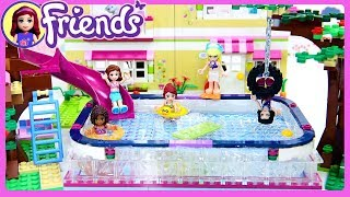 Lego Friends Big Swimming Pool in Olivia