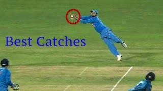10 Best Catches In Cricket History by Indian Players !