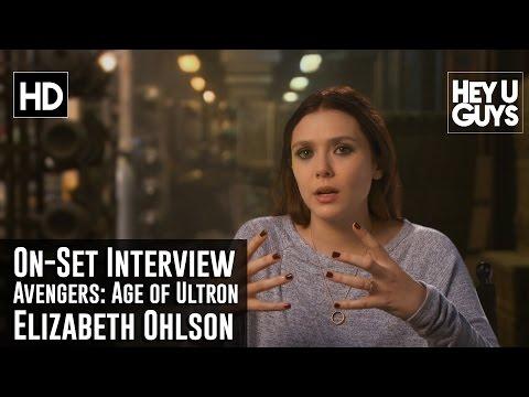 Elizabeth Olsen - Avengers: Age of Ultron On-Set Interview
