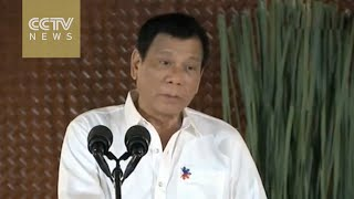President Duterte decides to depend less on US