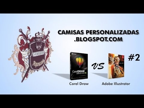 Corel Draw VS Adobe Illustrator   Parte 2 de 2
