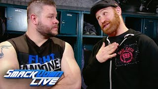 Sami Zayn promises to lay down for Kevin Owens at WWE Fastlane: SmackDown LIVE, March 6, 2018