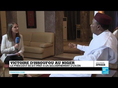 France24 - Entretien Exclusif Avec Le Président Réélu Mahamadou Issoufou