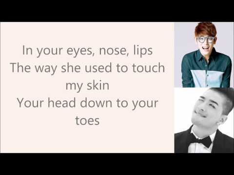{ Eyes Nose Lips } English Cover By Eric Nam Lyric Video video
