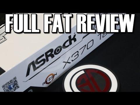 Asrock Taichi X370 AM4 Ryzen Motherboard Review