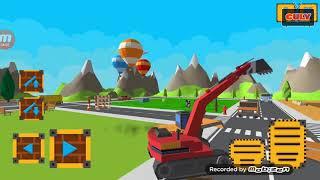 trò chơi Lái xe cần cẩu xây dựng công trình architect craft and build
