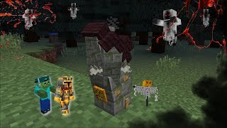 Minecraft VISITING GRANNY HORROR HOUSE MOD / FIND OUT MARIE IN HIDE AND SEEK !! Minecraft