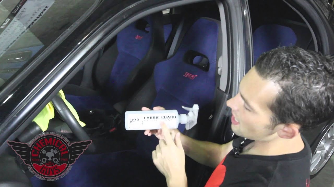 how to suede alcantara cleaning and protecting chemical guys subaru wrx sti detailing youtube