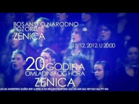 20 godina OMLADINSKOG HORA ZENICA (reklama)