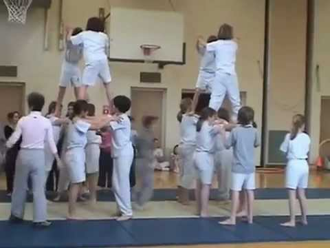 Aurora Waldorf School - Annual Tumbling Circus - part 2 of 3