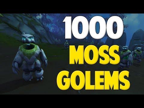 Runescape 2017   Loot from 1000 Moss Golems