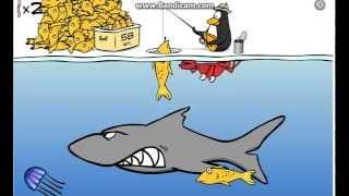 пингвины ловят рыбу фото