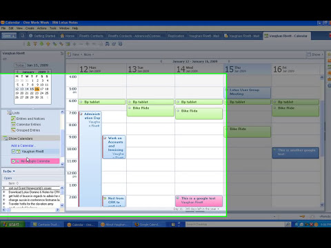 Lotus Notes 8.5 - iCAL Support in the Lotus Notes Calendar