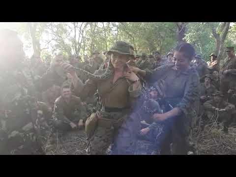 Marinir TNI Ajari Tentara Amerika Bertahan Di Hutan