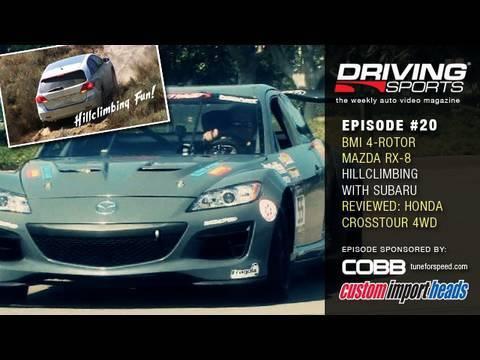 BMI 4-Rotor RX-8, Hillclimb Challenge, Honda Crosstour