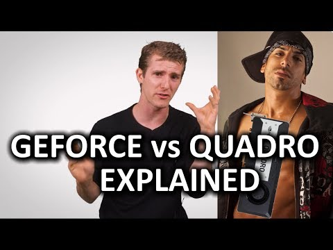 GeForce vs Quadro as Fast As Possible