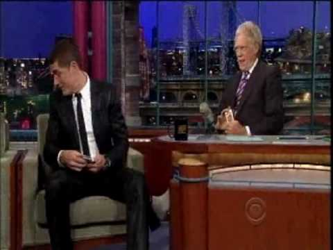 Matthew Fox on Letterman - May 17, 2010