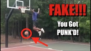 Dexton FAKED the Bounce Dunk! Fooled Almost EVERYONE!