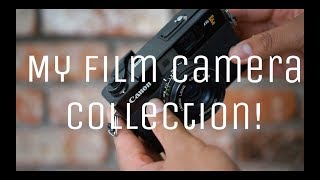 My Film Camera Collection!