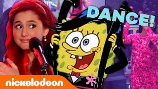 Ultimate Nick Homecoming Dance! 🎉 w/ Henry Danger, SpongeBob & The Loud House! | #MusicMonday