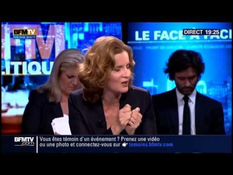 Nathalie Kosciusko-Morizet débat avec Ségolène Royal sur BFMTV, le 19/10/2014