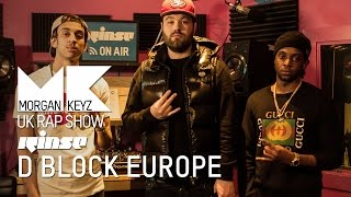 UK Rap Show: Young Adz & Dirtbike LB (D Block Europe) Freestyle