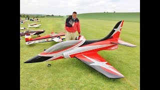 ELITE AEROSPORTS HAVOC 3.45mtr RC TURBINE SPORTS JET - MIKE AT MEMORIAL FLY-IN - 2018
