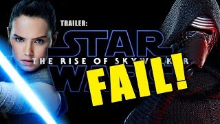 KATHLEEN KENNEDY IS KILLING STAR WARS! EPISODE IX THE RISE OF SKYWALKER PANEL AND TRAILER BREAKDOWN