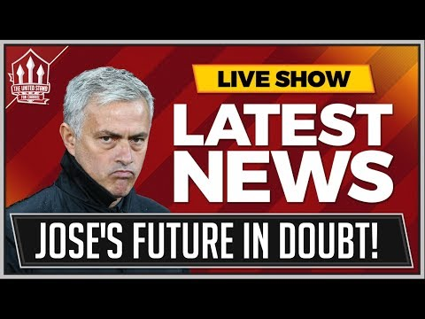 MOURINHO Out Of Fashion! MAN UTD News