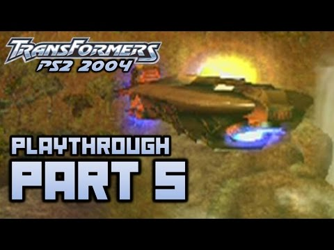 Transformers (PS2) Playthrough Part 5 - Deep Amazon  (720p)