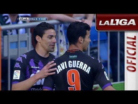 Gol de Óscar (0-1) en el Real Madrid - Real Valladolid - HD