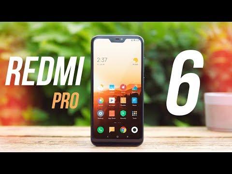 Обзор Xiaomi Redmi 6 Pro - челку в массы! [4k]