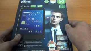 Анонс планшетного ПК Ritmix RMD-1050