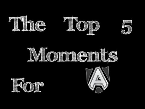 Dota 2 | Alliance Top 5 Best Moments | Top Plays