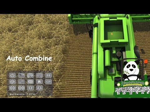 Farming Simulator 2013 Mod Review Auto Combine v 2 1 MP