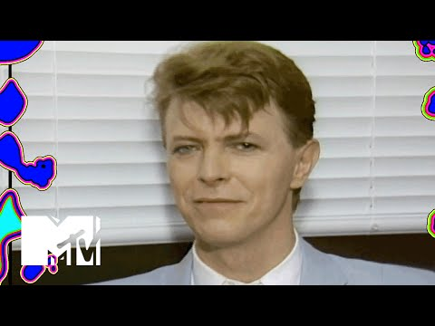 David Bowie Talks 'Labyrinth' Backstage At Live Aid | MTV News