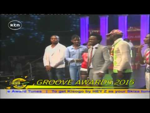 Bahati shed tears after winning Groove 2015 Song of the Year Award