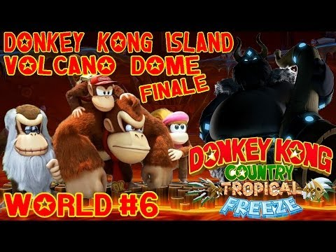 ABM: Donkey Kong Tropical Country (walkthrough 6) (FINAL!!) HD !!