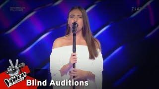 Ειρήνη Αγγελάκη - Μια κόρη ρόδα εμάζωνε   7o Blind Audition   The Voice of Greece