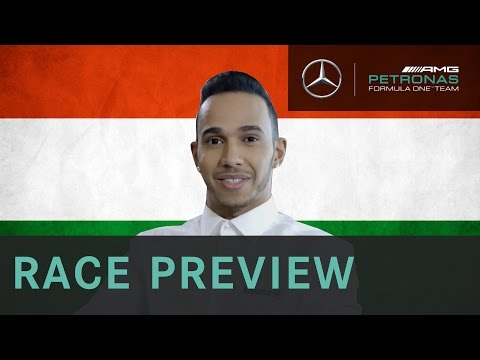 Lewis Hamilton 2015 Hungarian Grand Prix Preview, with Allianz