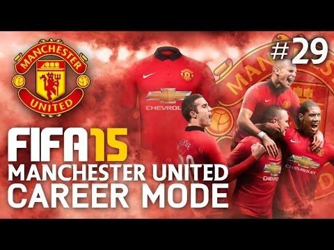 FIFA 15 | Manchester United Career Mode - CAPITAL ONE SEMI FINAL!