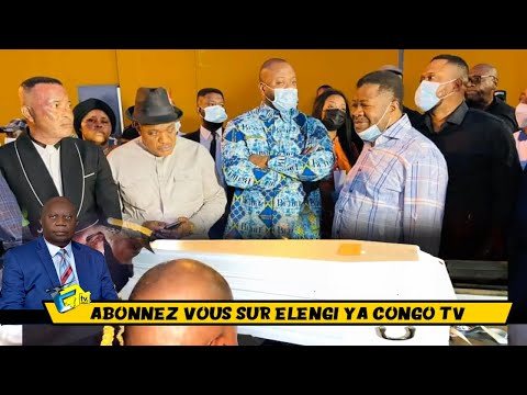 INTÉGRALITÉ: MOISE MBIYE ,L'Arrivée De La Dépouille Mortelle APOTRE EMMANUEL MBIYE, DÉNIS LESSIE