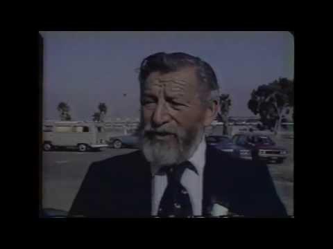 1983 Santa Monica Pier Collapse Storm - TV News Footage