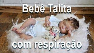 Bebê Reborn com Respiração - Apresentando e Embrulhando Bebê Talita