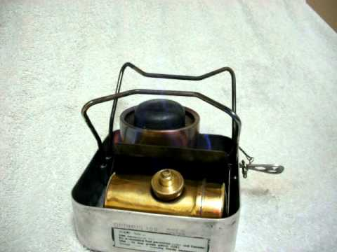 how to clean an optimus stove