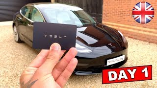 "UK RHD Tesla Model 3 Performance ""All Options"" 