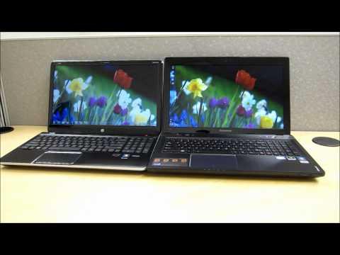 HP dv6t-7000 Vs. Lenovo Y580 Comparison