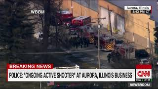 Police  Active shooter at Aurora, Illinois business   CNN Breaking News