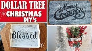 🎄DOLLAR TREE CHRISTMAS DIY 2018 - DIY HOLIDAY HOME DECOR IDEAS🎄