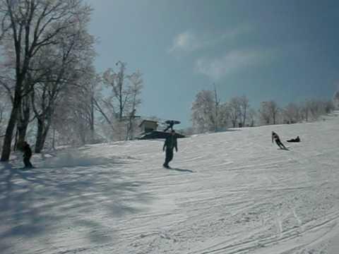 2010年3月12日 野沢温泉スキー場 やまびこゲレンデCコース